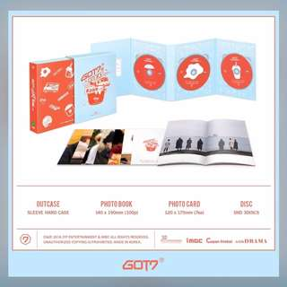 [Preorder] GOT7 WORKING EAT HOLIDAY IN JEJU DVD(3DISC) + PHOTOBOOK