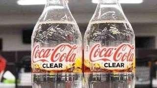 日本 小禮物 送禮 新品 透明可樂 可口可樂