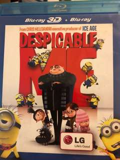 Despicable me blue ray 3D