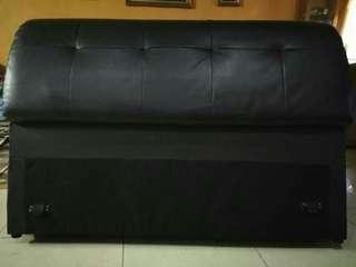 Leather Divan