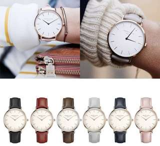 🚚 ROSEFIELD; (Leather) Minimalistic Watch