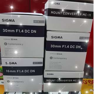 SIGMA EMOUNT LENS & MC-11