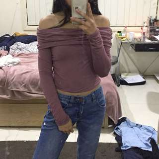 Cotton on off the shoulder top