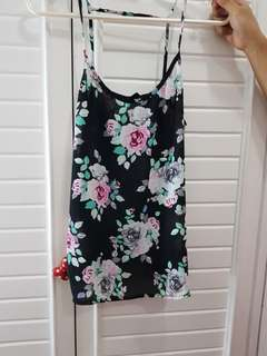 H&M Top - Floral (Sleeveless)