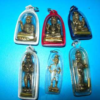 Thai Amulet Ku Gu Man Tong Antique LP Yan Baby God
