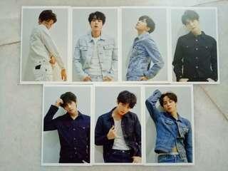 BTS tear lomo card