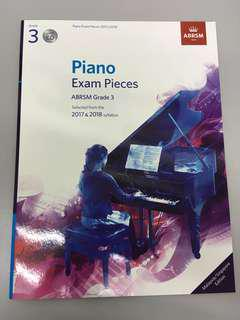 ABRSM Piano Exam Pieces Grade 3 with pieces