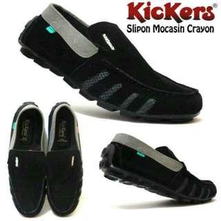 Sepatu Santai Pria KICKER Crayon Casual - Merah, 40