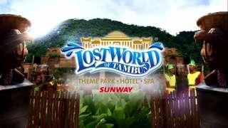 50 percent Lost World Tambun water park x2