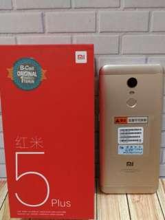 Xiaomi redmi 5 plus 3/32 bisa kredit tanpa kartu kredit proses cepat bunga rendah