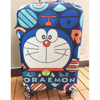 🚚 Luggage Cover / Stretchable Elastic Luggage Protective Cover/ Doraemon /高弹力行李箱套