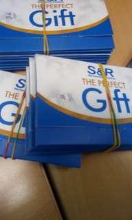 S & R Membership Shopping Gift Cards