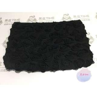 🚚 【黑皮TIME】LANCOME蘭蔻-黑色玫瑰蕾絲化妝包(公司貨)G01G01387