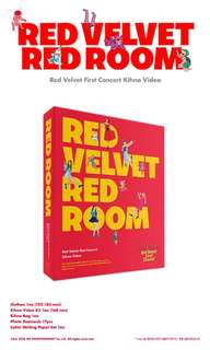 RED VELVET 1ST CONCERT RED ROOM KIHNO VIDEO