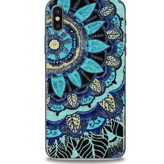 🌼C-1199 Blue Mandala Case🌼