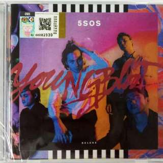 5 Seconds Of Summer 5SOS Young Blood CD 16 Tracks Deluxe Edition