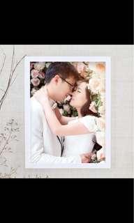 白色木相框 畫框 18吋