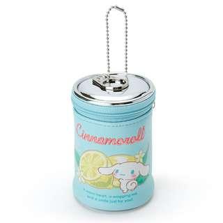 Sanrio 日本正版 Cinnamoroll 玉桂狗 罐頭型 散紙包 零錢包 掛飾 吊飾