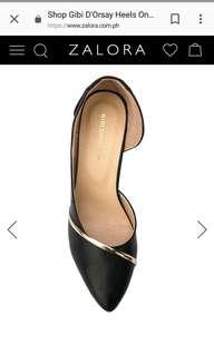 D'Orsay Heels Gibi (Black)