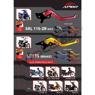 SRL115Z CNC ALLOY BRAKE LEVER - APIDO RACING