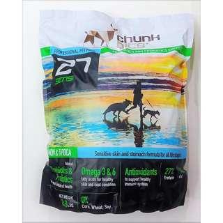 Chunk Bits Sensi 27 1kg Packing with ziplock bag