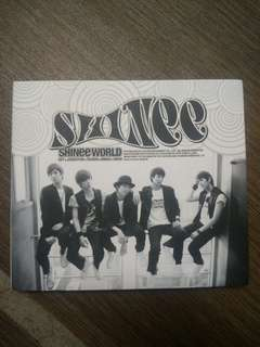 SHINee SHINee WORLD THE FIRST ALBUM