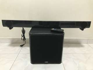 Yamaha Sound Bar with wireless woofer