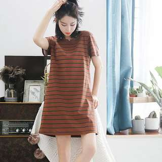 Striped Dress SleepWear