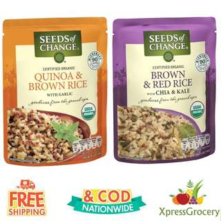 SEEDS OF CHANGE Quinoa and Brown Rice Red Rice