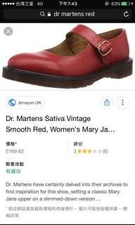 🚚 Dr martens 小紅鞋 復古vintage