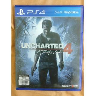 PS4 Uncharted 4/ UC4 (USED) (SOLD)