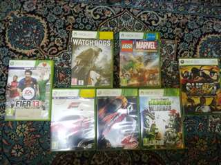 Xbox 360 Games (1 GAME=RM 35)