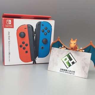 Nintendo Switch JOYCON 電光藍/電光紅