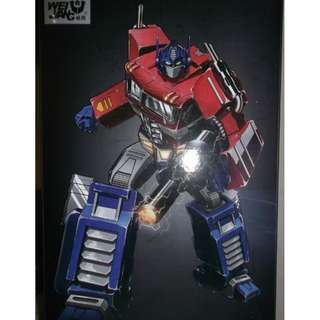 WeiJiang MPP10-Optimus Prime [Clear Ver.] - DAMAGED PART / NON-TRANSFORMABLE