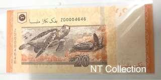 Malaysia RM20 Zety ZD0004646