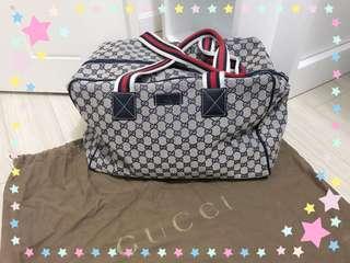 Gucci 手袋 - 紅白藍帶 (95%新)