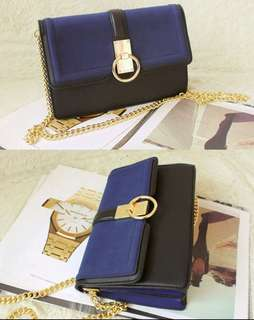 Aldo Crossbody Navy Bag