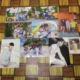 [SALES] iKON KONY'S SUMMERTIME PRINTED PHOTO & POLAROID CARD