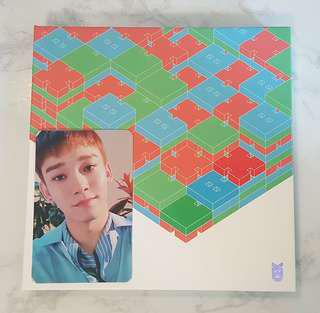 EXO CBX BLOOMING DAYS CHEN PHOTOCARD