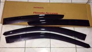 Honda Accord window visor