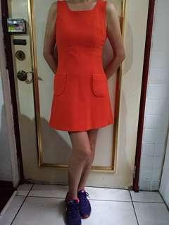 🚚 Laicarfore橘色洋裝