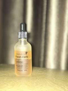 Preloved Natural Pacific Fresh Herb - damn serum