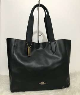Coach Derby Tote Black sz 36/47x23x14