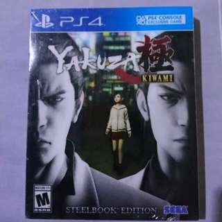 Brand New Yakuza Kiwami Kaset Game BD4