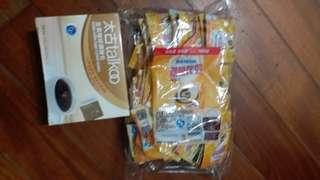 太古咖啡糖包和咖啡伴侶(6包,伴侶3包)