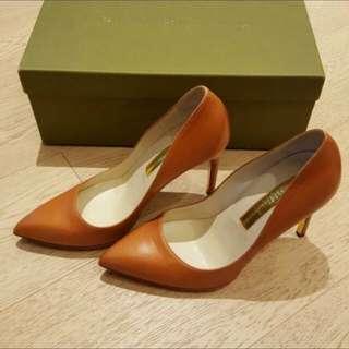 Rupert Sanderson Tan Pumps/heels/ shoes