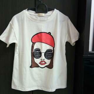 Summer fashion T-shirt