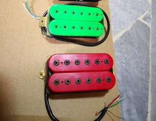 Guitar pickups Dimarzio and Dragonfire