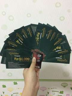 Giveaway voucher