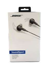Bose Soundsport headphones (Android)